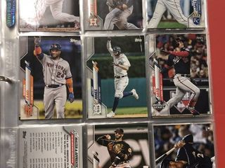 Two Partial 2020 Topps Series 1 Sets   Mike Trout  Bubba Starling Rookies  Almost Two Sets