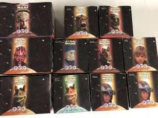 lot of Eleven New In Box   1999 Stars Wars Phantom Menace Taco Bell KFC Pizza Hut Giveaways   Skywalker  Yoda  Darth Maul