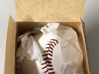 New In Box Official 2013 World Series Baseball   Boston Red Sox vs St  louis Cardinals
