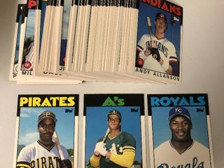 Complete Run of 1985 to 1989 Topps Traded Complete Sets Plus 3 1989 1990 Score Traded Sets   Rookies of Ken Griffey Jr x2  Bo Jackson  Barry Bonds   More