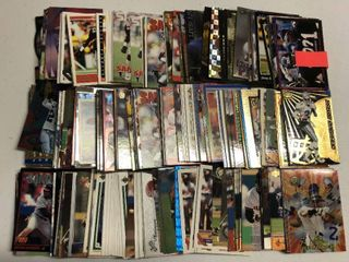 Huge Collection of 500  Deion Sanders Football and Baseball Cards