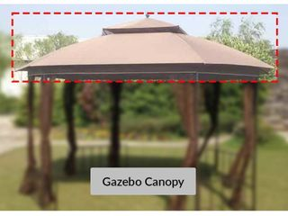 Sunjoy Replacement Canopy Set for Gazebo