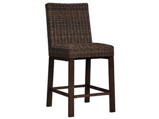 Paradise Trail Outdoor Barstool  Set of 2    Medium Brown Retail 488 49