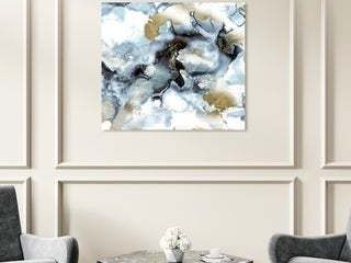 Oliver Gal Abstract Wall Art Canvas Prints  Faraway  Watercolor