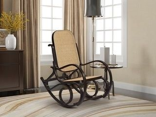 GAllERIE decor Bentwood Rocking Chair Eapresso