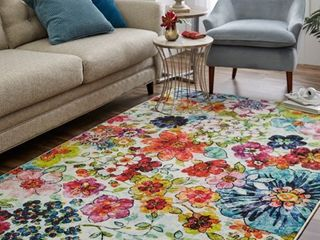Mohawk Prismatic Blossoms Area Rug Retail 79 98