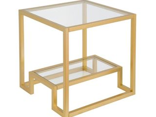 Athena Geometric luxe Side Table