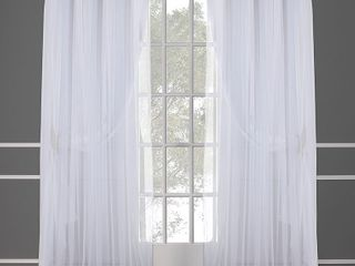 ATI Home Catarina layered Curtain Panel Pair w  Grommet Top   set of 2