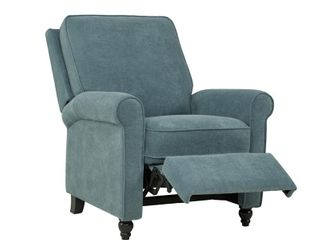 Prolounger Chenille Push Back Recliner Chair