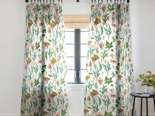 Holli Zollinger Herbal Study Blackout Curtain Panels   Set of 2