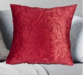 Porch   Den Suzanne Crushed Velvet Throw Pillow