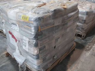 mixed pallet of mortar  thick bed mortar  and self leveling underlayment