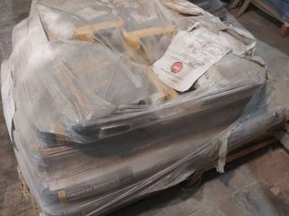 mixed pallet of surface prep patch and self leveling underlayment