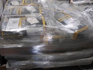 mixed pallet of mortar and surface prep patch