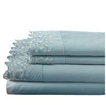 Hotel lace Microfiber Sheet Set QUEEN