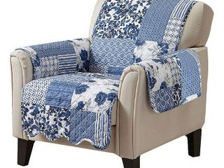 Great Bay Home Patchwork Printed Chair Protector