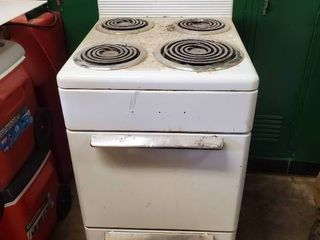Small Electric Range and Oven 20 x 24 x 43