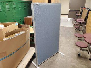 Aluminum Framed Partition 36 x 61 x 1