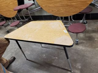 Small Trapezoid Table