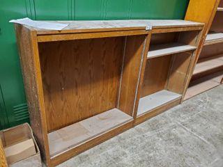 large Wooden Bookshelf 73 l x 13 W x 24 T