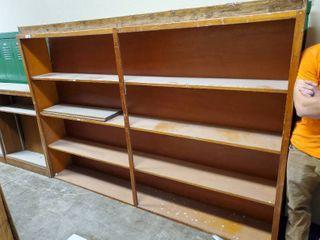 Very large Wooden Book Shelf 97 l x 68 T x 12 W