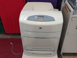 large HP Color lazerjet 5550 DTN Printer