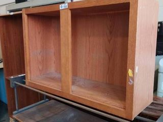 lot of two wooden Upper Wooden Cabinet