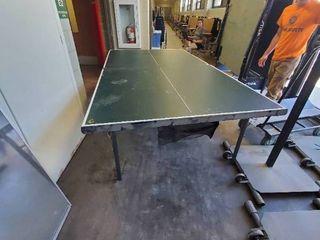 lifetime Folding Ping Pong Table