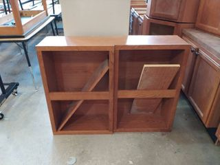 lot of two Upper Cabinets