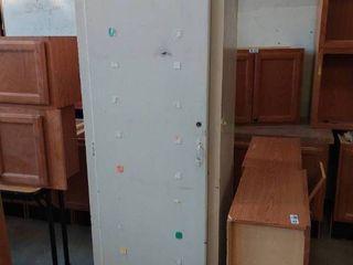 large White Wood cabinet 24 x 24 x 83