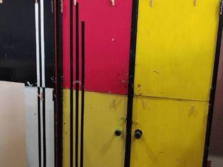 Massive four door Cabinets 52 l x 32 D x 84 T