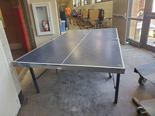 STIGA Folding Ping Pong Table