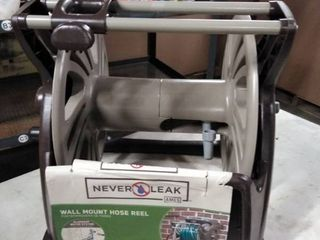 Neverleak by Ames 225  Poly Wall Mount Hose Reel with Manual Hose Guide and Tray   2415500