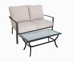 style selections elliot creek loveseat and coffee table