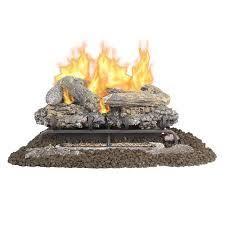 pleasant hearth 24 inch vent free gas logs