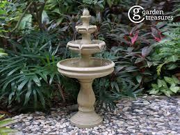 garden treasures lighted 3 tier fountain