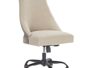 Home Office Swivel Desk Chair Brown   Signature Design by Ashley