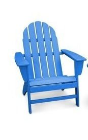 1 POlYWOOD Vineyard Outdoor Adirondack Chair Retail 200 00