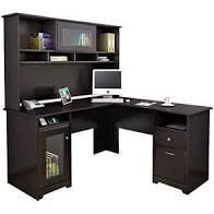 Copper Grove Shuman Espresso Oak Finish Desk Hutch  Hutch Only  Retail 269 99