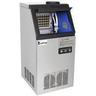 ZOKOP 495W 110lbs 150lbs Stainless Steel Transparent Cover Commercial Ice Machine  Retail 486 49