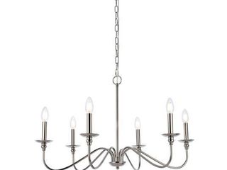 Rohan Collection 6 light Chandelier  Retail 129 60