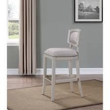 Aspen Antique White Counter Height Stool by Greyson living  Retail 161 99