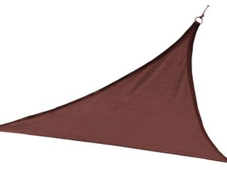 Shelterlogic 25671 230 GSM Triangle Shade Sail  16 Feet  Terracotta