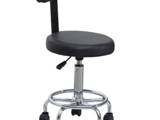 BarberPub Adjustable Hydraulic Rolling Swivel Salon Stool Chair Tattoo Massage Facial Spa Stool Chair 6005