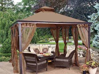 Sunjoy Replacement Canopy set for l GZ212PST 10X12 Dustin Gazebo  Retail 117 99