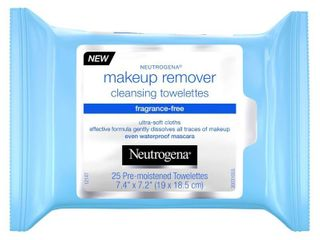 6 packages Neutrogena Cleansing Makeup Remover Cleansing Towelettes Fragrance Free   32ct