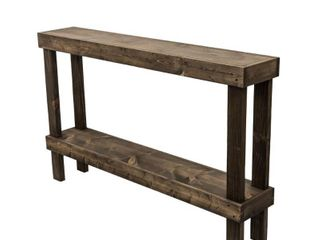 Rustic luxe large Wooden Sofa Table by Del Hutson Designs  Retail 219 99