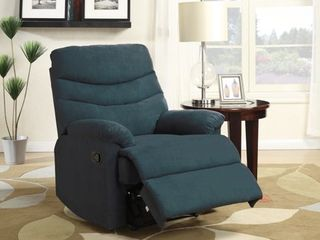 Copper Grove lily Blue Microfiber Recliner  Retail 281 49