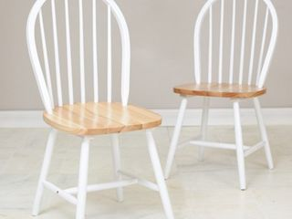 Farmhouse Chair  Set of 2  Retail 128 49