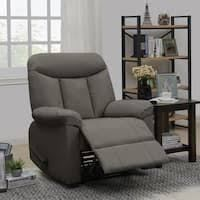 Copper Grove Herentals Grey Chenille Wall Hugger Recliner Chair  Retail 409 99
